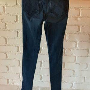 J BRAND Super Skinny Jean in Majestic size 26